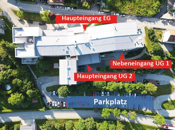 GZ Eingänge und Parkplatz_neu